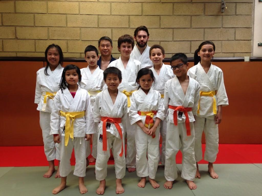Aikido Enfants 2015-2016 - Suite au passage de grade
