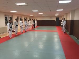 Cours Hapkido Salut à la fin du cours
